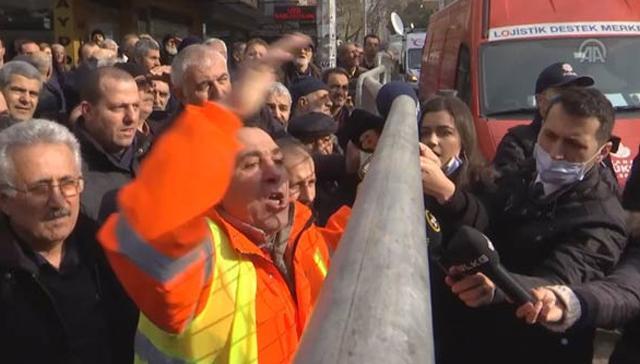 Vatandaştan Belediye Başkanı'na sert tepki: Seçimler yaklaşıyor, Allah büyük...