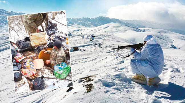 PKK'nın kış üslenmesine darbe