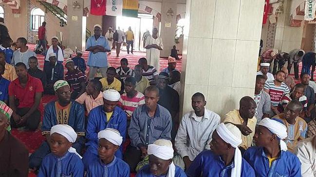 Gine'de Sultan 2. Abdülhamid Han Camisi'nde anma etkinliği düzenledi