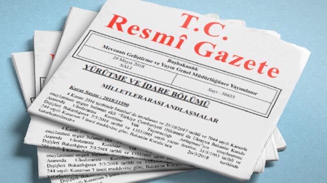 Cumhurbaşkanı general ve amiral atamaları Resmi Gazete'de