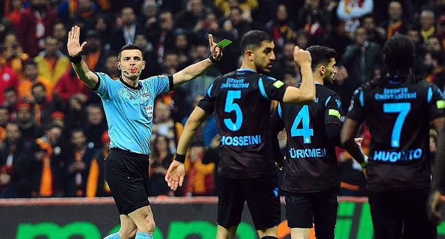 Trabzonspor hakem hatalarına isyan etti