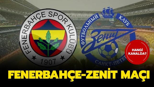 Fenerbahçe ve Zenit karşı karşıya