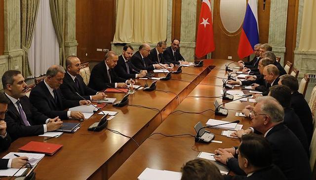 Başkan Erdoğan-Putin görüşmesi: Fırat'ın doğusu PKK/PYD'den temizlenmeli