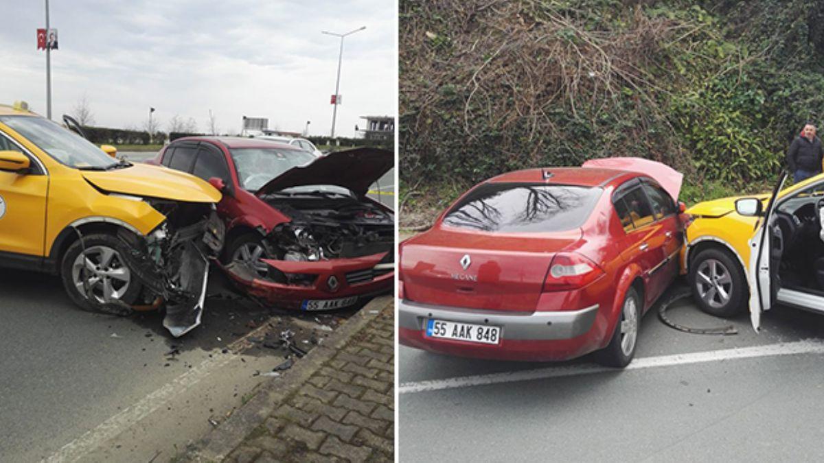 Çaykur Rizesporlu Mykola Morozyuk'un eşi Irina bugün Rize'de trafik kazası geçirdi