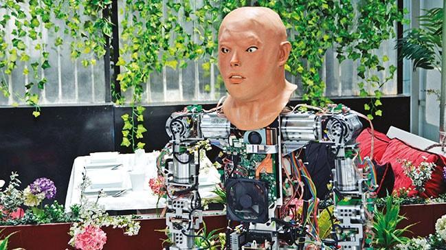 Türkiye'nin ilk insansı robotu