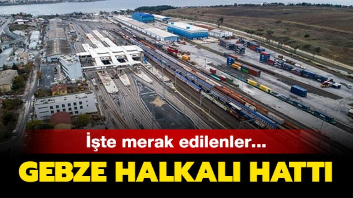 Gebze Halkalı tren hattı durakları belli oldu! - Gebze Halkalı sefer saatleri ve ücret tarifesi!
