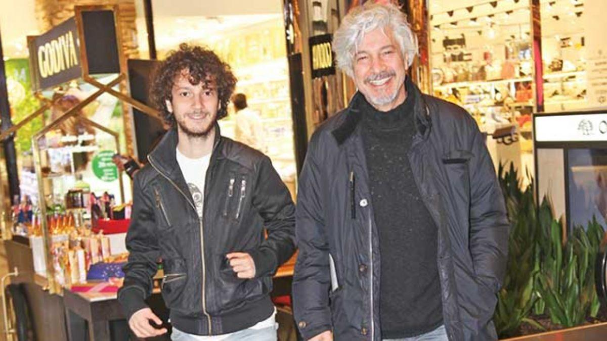 Behzat Uygur oğlu Nejat Uygur ile alışverişe çıktı!