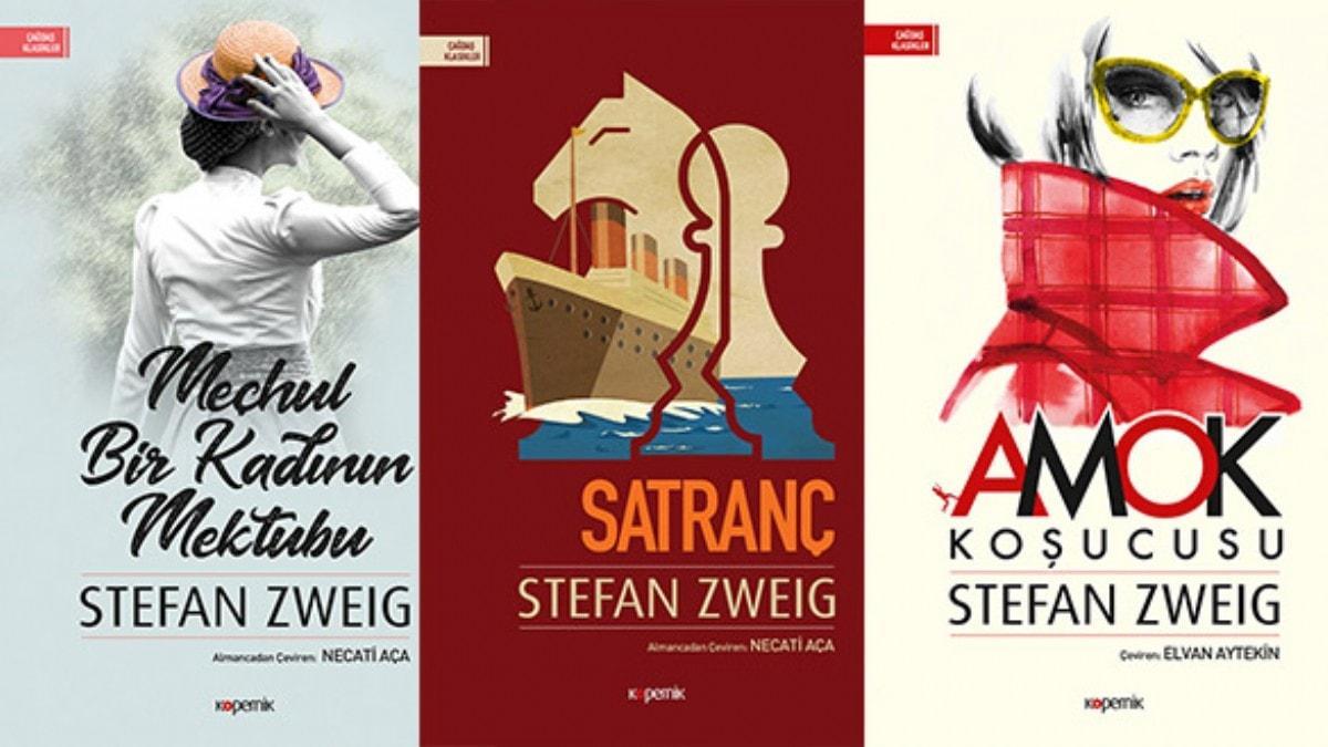 Kitapseverlere müjde! Stefan Zweig'in kitapları raflarda yerini aldı
