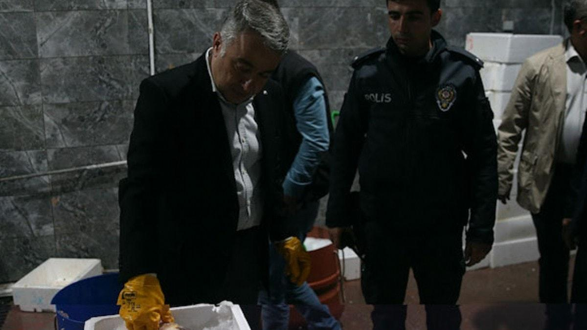 Kayseri'de 15 ton kaçak balık ele geçirildi