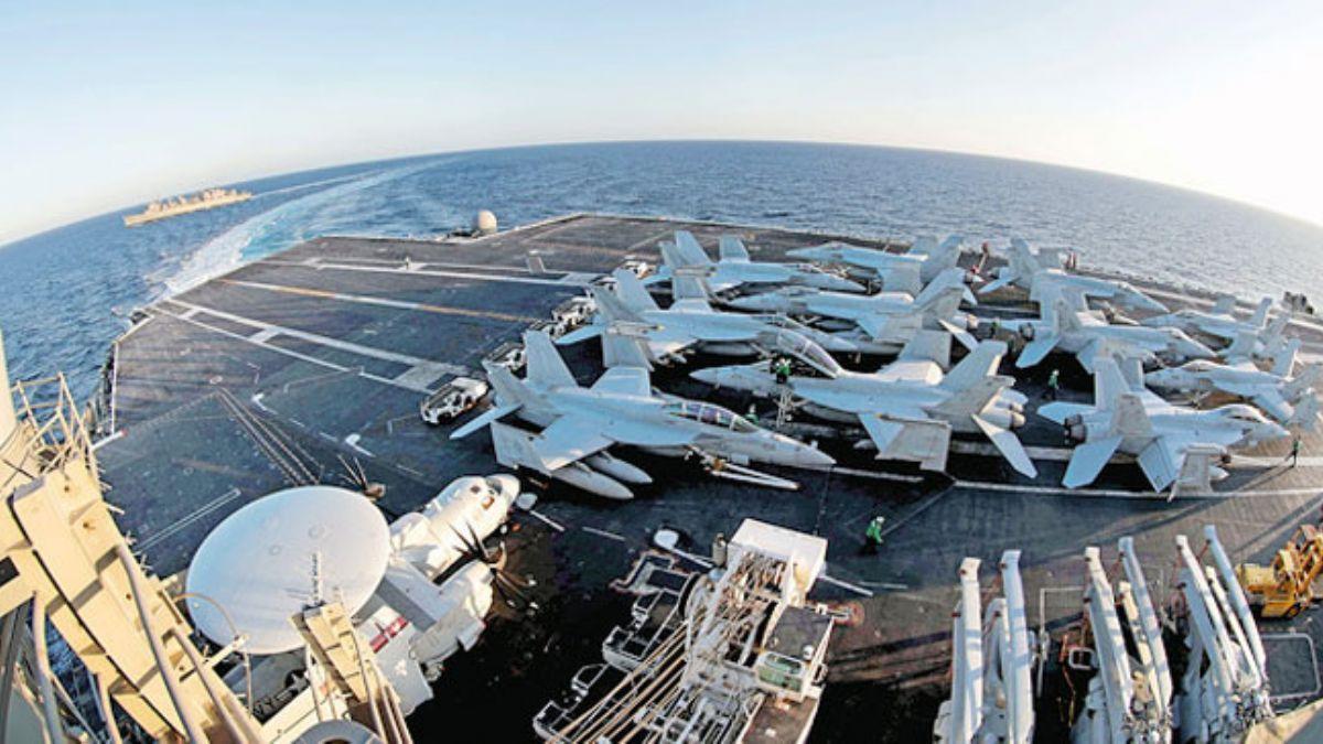 ABD, Körfeze askeri yığınağını yoğunlaştırdı
