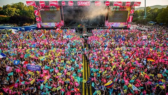 Türkiye'den Sziget Festivali'ne 'Yasak Helva'