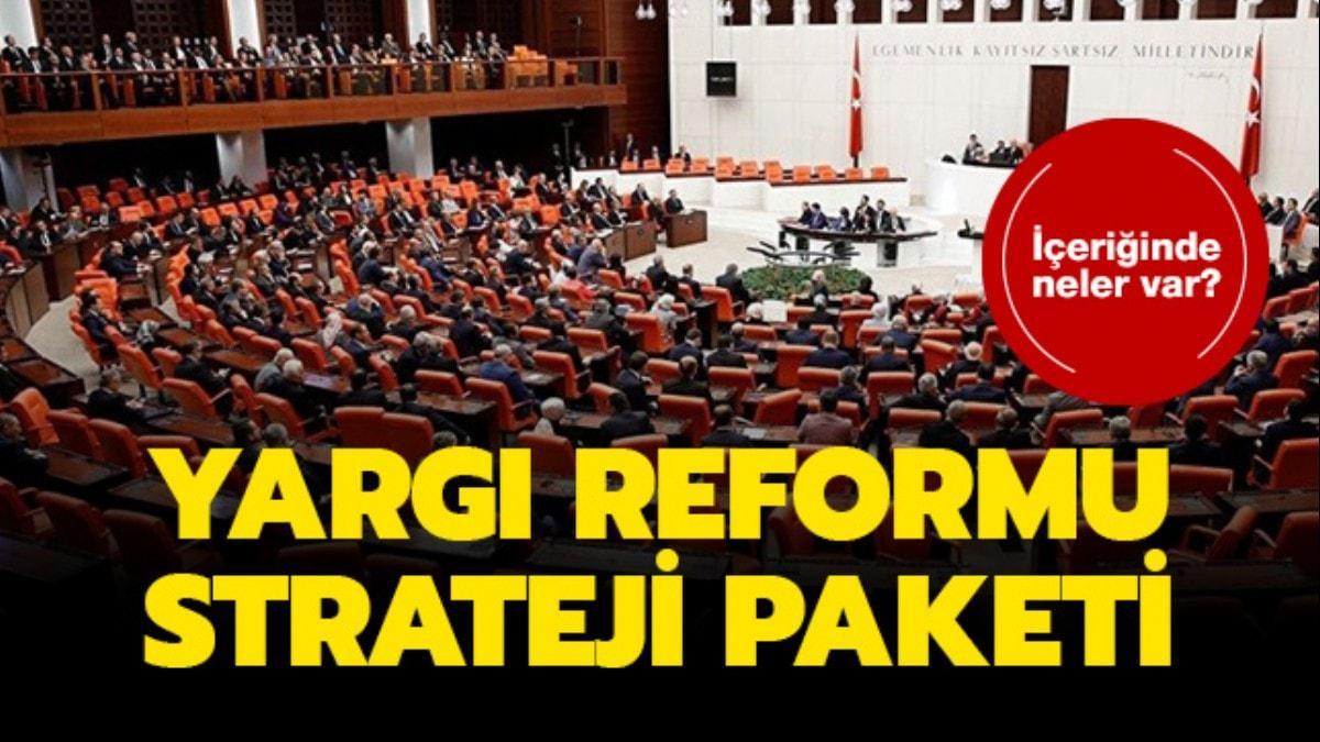 Yargı Reformu Strateji Belgesi açıklandı