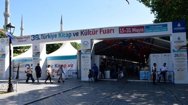 38. kez düzenlenen Türkiye Kitap ve Kültür Fuarı yarın sonlanıyor