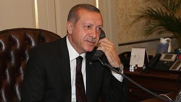 Başkan Erdoğan, liderlerle bayramlaştı