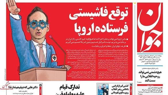 İran basınından Alman bakana Nazili eleştiri