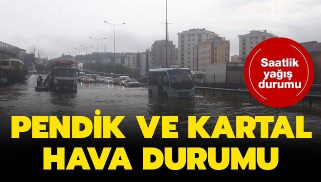 İstanbul Pendik Kartal hava durumu son dakika! 12 Haziran Pendik Kartal saatlik hava durumu