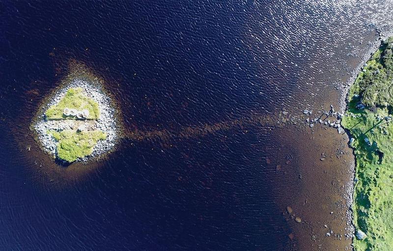 Haritadaki gizem! 5600 yıllık adalar bakın nasıl yapılmış