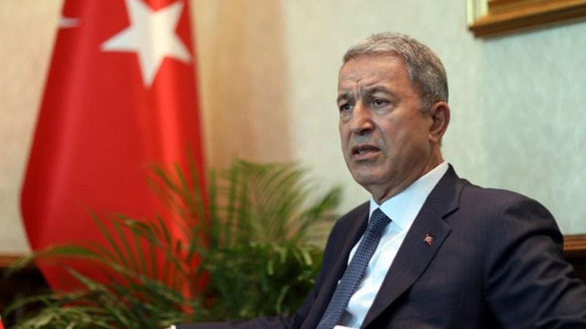 Milli Savunma Bakanı Akar: Hainler layık oldukları cezayı buldular