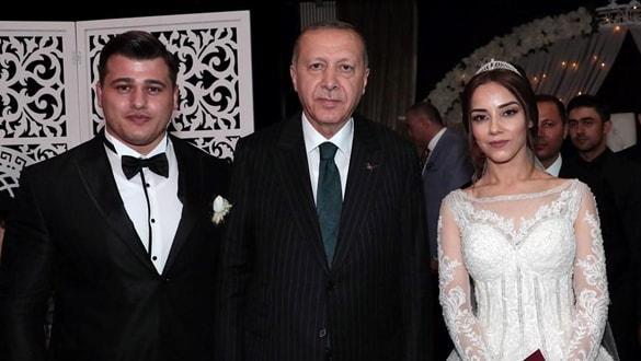 Dünyaevine giren Rıza Kayaalp'in nikah şahidi Başkan Erdoğan oldu