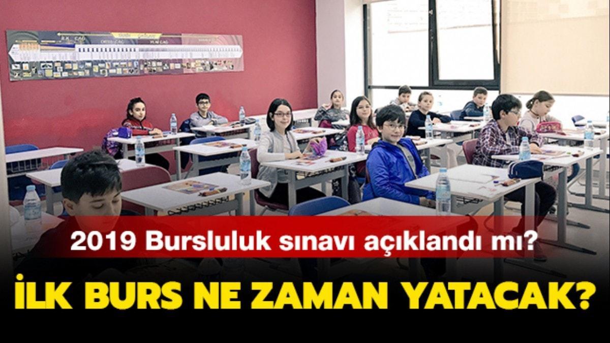 """Bursluluk sınavı 2019 açıklandı mı"""""""