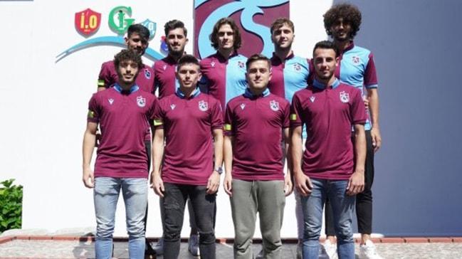 Trabzonspor'dan 9 imza birden
