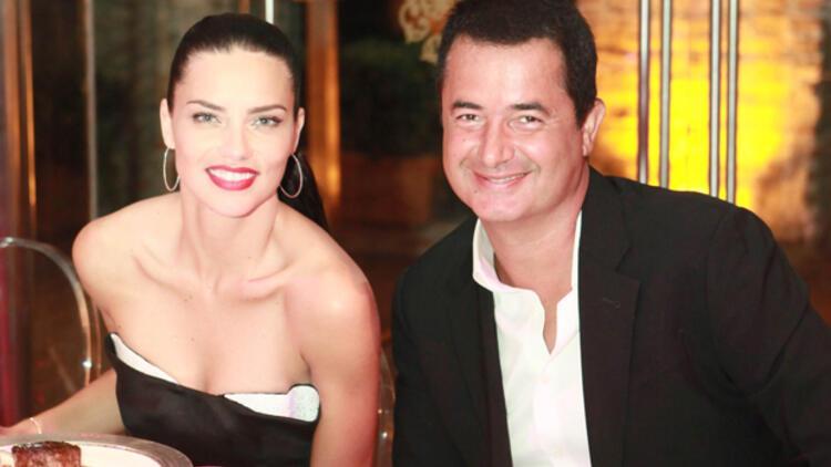 Acun Ilıcalı'dan Adriana Lima'ya olay sözler: 'Türk sevmesinin sebebi benim'
