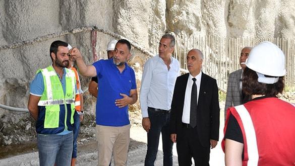 Honaz Tüneli'nde sona doğru! Denizli'yi, İzmir, Aydın, Muğla  ve Antalya'ya bağlayacak