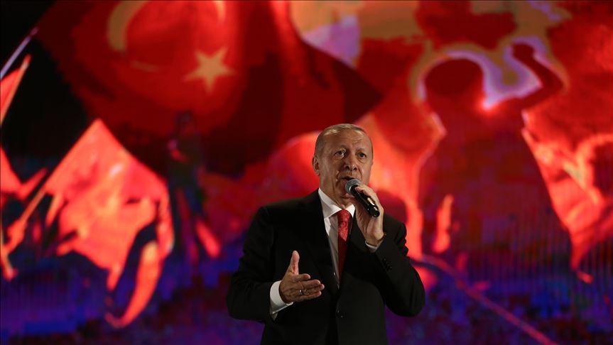 Başkan Erdoğan: Bu müptezeller Türkiye'yi ele geçiremeyecek