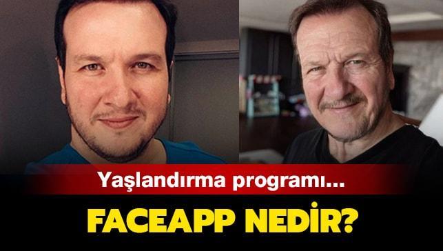 """Faceapp yaşlandırma uygulaması nedir"""" Faceapp yaşlandırma programı nereden indirilir, ücretsiz midir"""""""