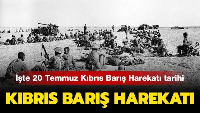 Kıbrıs Barış Harekatı tarihi haberimizde