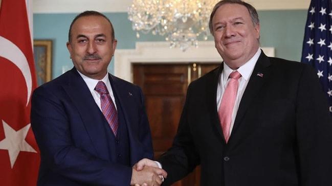 Dışişleri Bakanı Çavuşoğlu ve ABD'li mevkidaşı Pompeo görüştü