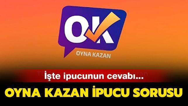20 Temmuz Oyna Kazan ipucu sorusu
