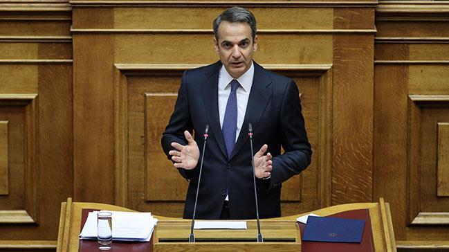 Yunan Başbakan Miçotakis'ten 'cesur adım' mesajı: Tayyip Erdoğan'a sesleniyorum