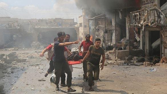 İdlib Gerginliği Azaltma Bölgesi'nde hayatını kaybeden sivillerin sayısı 17'ye yükseldi!