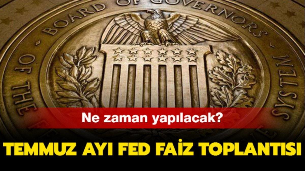 """Fed faiz toplantısı ne zaman"""" T"""