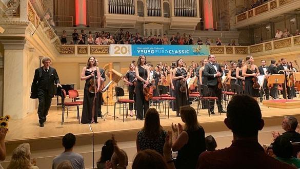 Türkiye Gençlik Filarmoni Orkestrası Berlin'de konser verdi
