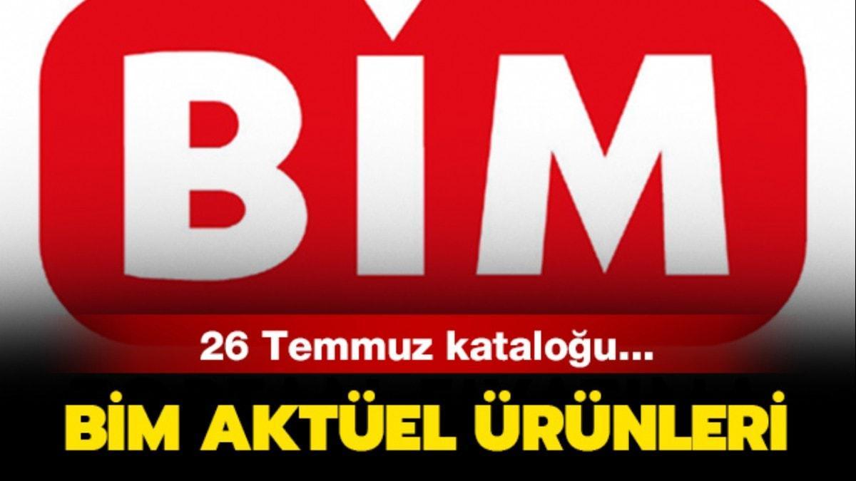 """26 Temmuz BİM aktüel ürünler listesi yayında! BİM'de haftanın fırsatları neler"""""""