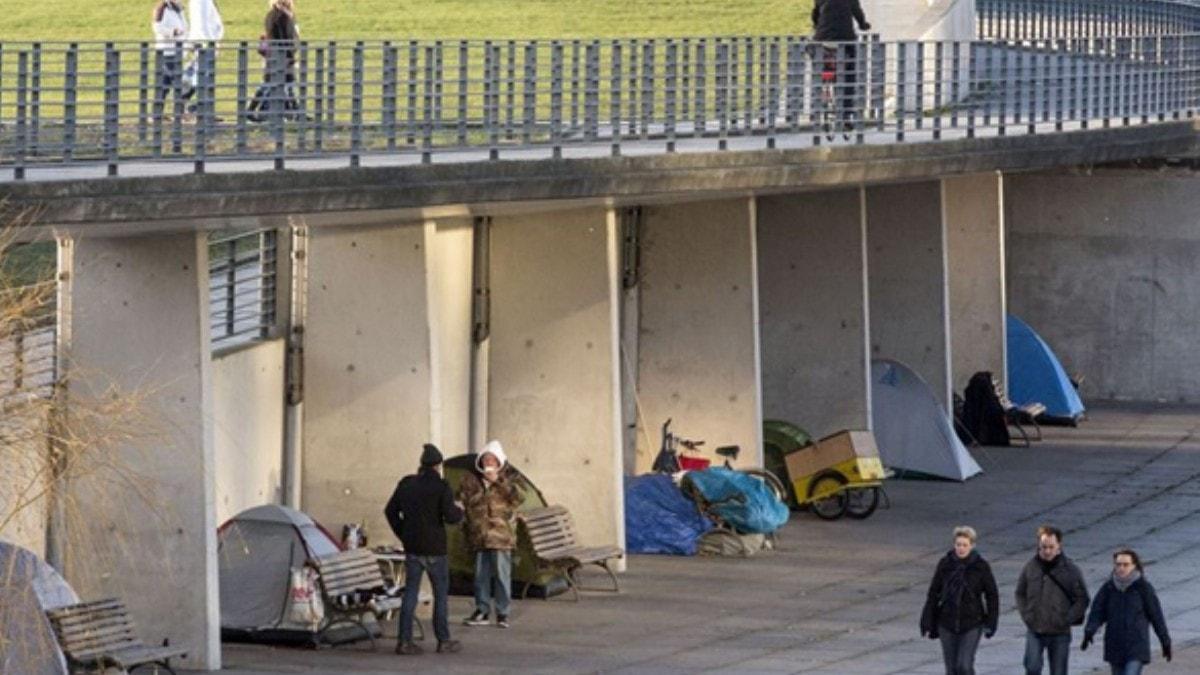 Almanya'da evsiz insanların sayısı 650 bine ulaştı