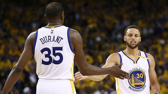 Stephen Curry, Kevin Durant'a sahip çıktı