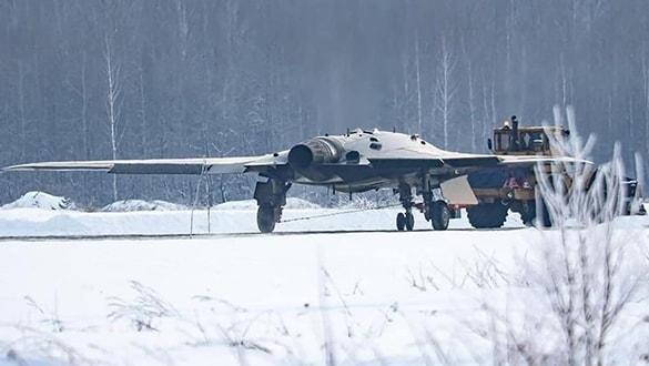 Rusya'nın yeni taarruz İHA'sı Su-57 ile birlikte çalışacak