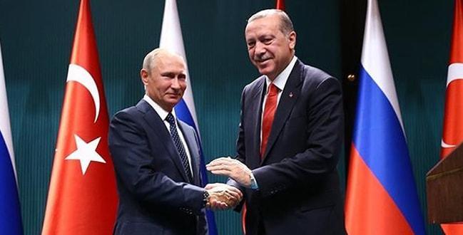 Başkan Erdoğan temaslarda bulunmak üzere Rusya'ya gitti