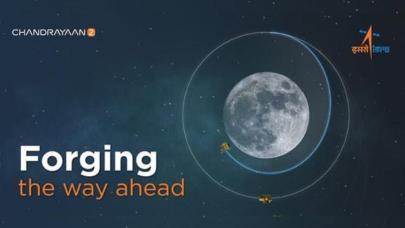 Hindistan'ın Ay'a indireceği modül yörüngeden ayrıldı