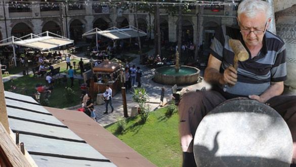 Türkiye'de en büyük 5 handan biri... Tarihi hana ziyaretçi akını