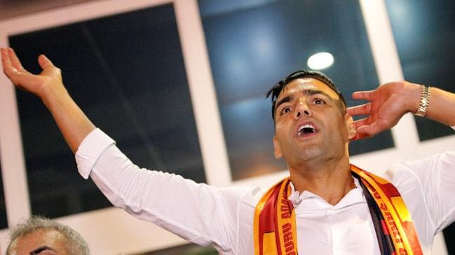 Galatasaray taraftarından Falcao için müthiş hazırlık