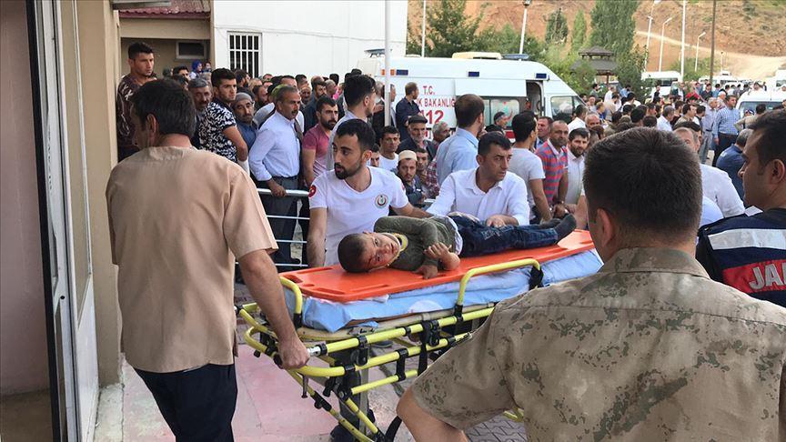 Bitlis Hizan'da korkunç kaza! 10 kişi hayatını kaybetti, 7 kişi yaralandı