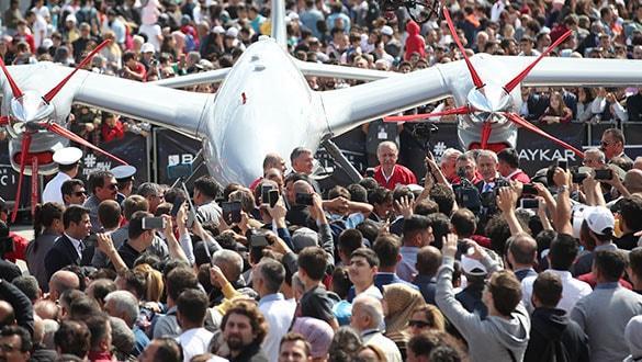 Akın akın geldiler! TEKNOFEST'te insan seli: Ziyaretçi sayısı bir milyonu geçti