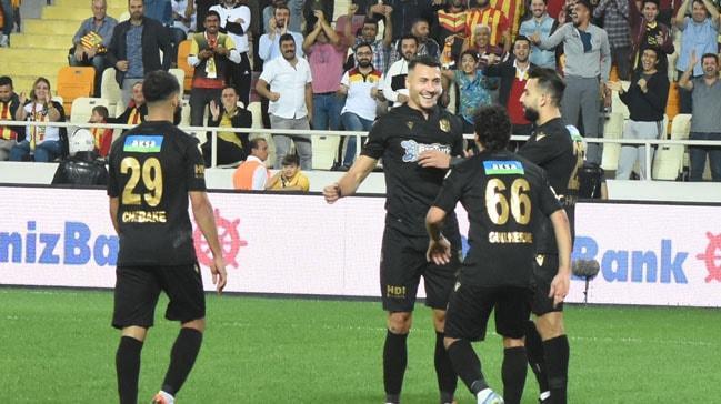 Adis Jahovic şov yaptı, BtcTurk Yeni Malatyaspor farklı kazandı