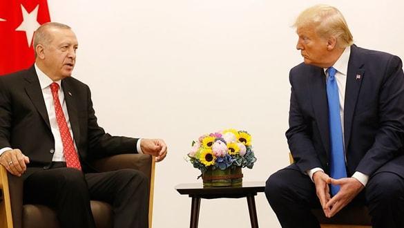Trump-Erdoğan görüşmesinde dikkat çeken detay! Esper ve Milley de katılmış