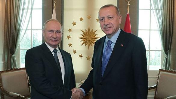 Suriye'de Fırat'ın doğusuna yapılacak harekat öncesi Başkan Erdoğan ve Putin'den kritik görüşme