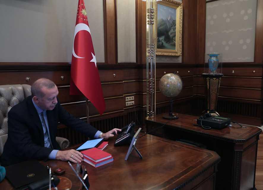 Başkan Erdoğan'ın harekat emrini verdiği an...